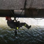 Активности на клубот - Санирање на доводна цевка на мостот Обединети Нации Скопје